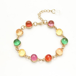 Wholesale Crystal Fresh Water - 2017 New design popular Jewelry fresh water pearl faceted crystal jewelry women chakra bracelet