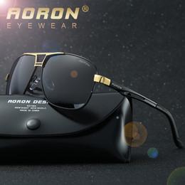 Wholesale Hd Sport Goggles - Luxury Brand HD Polarized Sunglasses Mens Driving Eyewear Top Quality Outdoor Sports Sun Glasses Fashion UV400 Leisure Glasses Goggle New