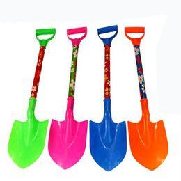Wholesale Beach Plastic Shovel - Wholesale- Children Sand Beach Shovel Classic Plastic Toys High Quality Baby Dredging Tools