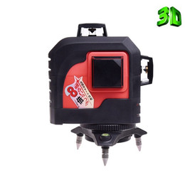 Wholesale Red Laser Mw - 12Lines 3D MW-93T Laser Level Self-Leveling 360 Horizontal And Vertical Cross Super Powerful Red Laser Beam Line