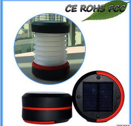Wholesale Solar Lantern Phone Charger - 2017year very hot sale,ABS Foldable Small Solar Camping Lantern With Mobile Phone Charger With CE RoSH