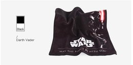 Wholesale Wholesale Cotton Scarves Stars - New Star wars Dark Vader Towel 34cm*34cm Printing Scarf Pure cotton Towel Cut pile Tower Home Textiles