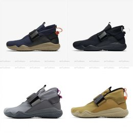 Wholesale acg black - 2018 Hot Sale Lab ACG 07 KMTR Running Shoes Men Women High Quality waterproof automatic magnetic clasp wind warrior Walking Shoes