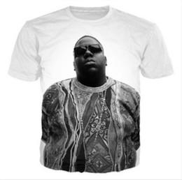 Wholesale 5xl Funny T Shirts - New Fashion Womens Mens Tupac Shakur 2Pac Biggie Smalls Funny 3D Print T-Shirt US09