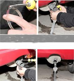 Tira anti estática on-line-10 Pçs / lote Carro Seguro Anti Estática Reflective Strip Terra Cinto Fio Terrestre Veículo