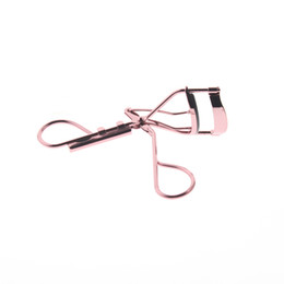 Wholesale Wholesale Asian Products - Wholesale-Rose Gold Color Metal Best Asian Portable Professional Eyelash Curler Tool Product With Replacement Pad For Women Girls
