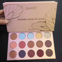 Wholesale Golden Long - 2017 new makeup colourpop golden state of mind 15 color eyeshadow palette  eyeshadow palettes ! DHL free shipping!
