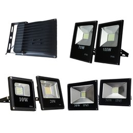 Wholesale Ac Spotlight - Super Bright LED Security Flood Light White Energy Saving Outdoor Waterproof Spotlights Wall Lights AC85-265V For Court Yard Parking Place