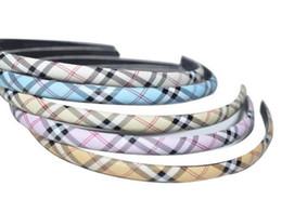 Canada Livraison gratuite 20pcs / lot Mix Couleurs réseau Style Hairband Bandeaux Pour Femme Bijoux Bijoux Cadeau HJ12 * Offre