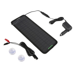Wholesale Solar 18v - Wholesale- 18V ,10W IP65 waterproof Multi-Purpose Portable Solar Panel Battery Charger for Car RV Car Battery high power hot selling