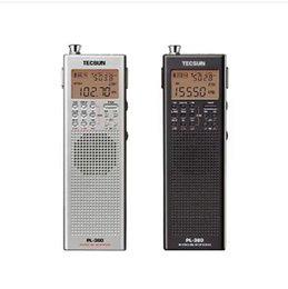 Wholesale Rechargeable Station - Wholesale-TECSUN PL-360 ETM PLL DSP World Band battery free Radio station receiver with ETM AM FM SW LW Available built-in speaker