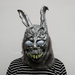 2019 зомби-маски Горячие Продажи Хэллоуин Косплей Донни Дарко Кролик Маска Страшное Животное Полный Голова Ужас Маска Зомби Дьявол Череп Маска Игрушки скидка зомби-маски
