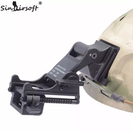 Casco del ejército de airsoft online-SINAIRSOFT NVG Montaje de brazo MICH M88 FAST Casco KIT DE MONTAJE Airsoft Tactical Ejército Night Vision Goggle Para Casco Accesorios Rhino NVG PVS-7