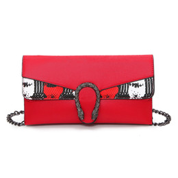 Wholesale Large Tote Patterns - Double layer Fashion women's envelope clutch bag Crocodile pattern Crossbody Bags for women trend handbag messenger bag large Ladies Clutche
