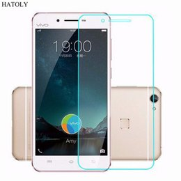Wholesale Bbk Vivo - Wholesale- HATOLY 2Pcs For BBK Vivo X6 Glass Ultra Thin Protective Film HD Screen Protector for BBK Vivo X6 Tempered Glass BBK Vivo X6