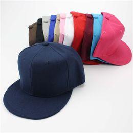 12 couleurs noir Snapback casquettes de baseball chapeaux pour hommes et femme casquettes plates Hip Hop Cap réglable danse d'été Snapback gros ? partir de fabricateur