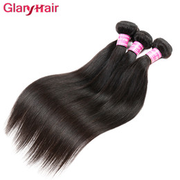 Wholesale Hair Products Girls - Wholesale Unprocessed Brazilian Straight Remy Virgin Hair Weave Sale Cheap Hair Extension Weave Bundles Free Shipping Hair Products For Girl