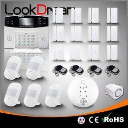 Wholesale Home Burglar Security Alarm System - Update Commercial Wireless House Security Anti Burglar Home Alarm Systems Low Consumption Power By DHL Free
