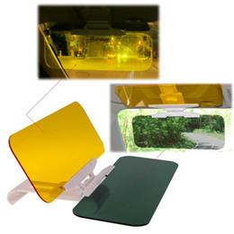 Wholesale Glare Shield - 2 in 1 Car Automobile Sun Anti-UV Block Visor Day and Night Non Glare Anti-Dazzle Sunshade Mirror Driver Goggles Shield