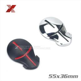 Wholesale Moto Decals - 5.5x3.6cm 3D Ninja Car Sticker Metal Emblem Badge Hero Terrans Force For Motorcycles Auto Moto Decal Car Styling Decoration