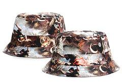 Wholesale Purple Silk Wide Ties - heaven Camouflage Bucket Hats Camo Fisherman Hats Wide Brim Sun Sad Boys Bob Fishing Caps Camping Hunting Hat Chapeau Panama women hip hop