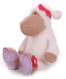 Wholesale Germany Toys - New Hot Cute 38cm Germany Nici Jolly Mah Turban Sheep Animal Plush Toy 1pcs Children Birthday Christmas Present Lovers Gifts