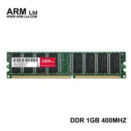 Wholesale Ram 1g Ddr - ARM Ltd DDR1 DDR 1 gb pc3200 ddr400 400MHz 184Pin Desktop ddr memory CL3 DIMM RAM 1G Lifetime Warranty