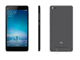 Wholesale Nfc Case - Original Xiaomi Mi 4C Hexa Core Smart Android Phone 2GB 3GB RAM 16GB 32GB ROM 13.0MP 3080mAh Snapdragon 808 5.0inch Phone Silicone Case Gift
