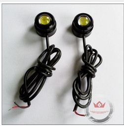 Wholesale red eagle eye light - 5Pair 23mm Eagle Eye 3W Daytime Running Light LED Eagle Eyes with 3m glue For led Fog Light