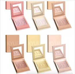 Wholesale Wholesale Water Salt - Heat up 2017 kylie cosmetics use Kylighters French vanilla, salt carmel and DHL free shipping + presents highlights grooming