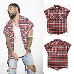 Wholesale urban clothing brands - new street fashion harajuku men kpop hipster kanye west justin bieber FOG brand urban clothing metallica music mens zipper shirt