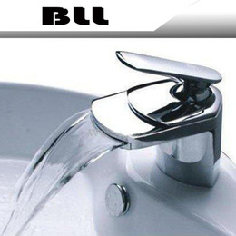 Wholesale Bathroom Faucet Plate - Modern Chrome Bathroom Basin Faucet Single Handle Sink Mixer Tap Deck Mounted NY02727