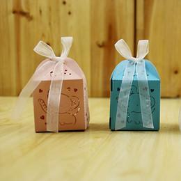 Casal de festa de casamento on-line-Favor de casamento Caixa de Doces Mini Gravado A Laser Caixa de Presente Favores Do Partido Criativo Caixa de Chocolate Caso Decorativo Presente 0 41rh J R