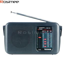 radio sensible Promotion Gros-haute qualité TECSUN R-303 FM / MW / SW / TV Récepteur Radio Sensitive Drop Drop