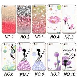 Wholesale Cards Life - Wholesalercase Cute Nature pattern Life Theme Design Clear Soft TPU Phone case For Iphone 4 5 5C 6 6plus 7 7plus