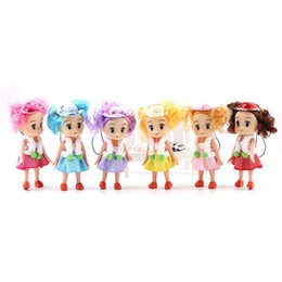 Wholesale Confused Dolls - 10 cm bright dream doll wholesale han edition cap Lovely little girl dolls confused hang anime peripheral MC10