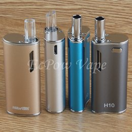 Wholesale China Cigarette Starter Kits - CBD vape oil pyrex glass atomizer electronic cigarette mods H10 ecig box starter kit china direct factory price