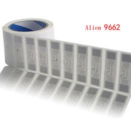 le etichette all'ingrosso di trasporto Sconti All'ingrosso-UHF adesivo etichetta Tag RFID adesivo con 860-960Mhz leggere la gamma fino a 10M DHL spedizione gratuita