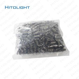 2019 conector impermeable led pin HITOLIGHT 1000 unids LED 4pin RGB Conector de tira para 5050SMD 3528SMD RGB Conector de tira Negro 4pin Fácil instalación Envío gratis