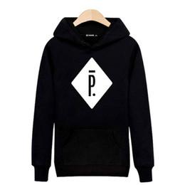 Sudaderas pigalle online-Al por mayor- PIGALLE Harajuku Sudadera Negro para Street Wear Sudaderas Hombre Luxury ray 3XL