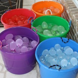 Wholesale Bomb Water - Frozen Magic Bunch Water Balloons Amazing children Water Bunch Balloons Water bomb Fill 100 Per Minutes Summer toys