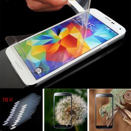Wholesale High Definition Screen Guard - For Samsung Galaxy S6 S6Edge S7 Edge Plus Screen Protector Anti Scratch Clear Front Protective Film Guard High Definition Ultra-thin New