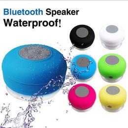 Wholesale Car Stereo Oem - 10pcsWaterproof-Bluetooth-Sperker Wireless-Shower-Car Handsfree-Stereo Music OEM