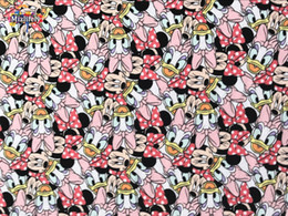 Wholesale Breathable Underwear Fabric - wholesale wholesale cotton knit Lycra fabrics Scalable Minnie Patchwork prints soft DIY baby clothes coat Underwear material Breathable