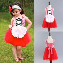alice tutu Coupons - Fashion Girls Floral Dress Baby Snow White Princess Alice Party Skirt Summer Kids Lace TUTU dresses DHL Free WX-D37