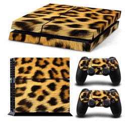 Wholesale Console Decorations - Console Decorations Cartoon Characters Sticker For PS4 Skin Sticker Cover for PlayStation 4 Console + 2 controller skins Decals