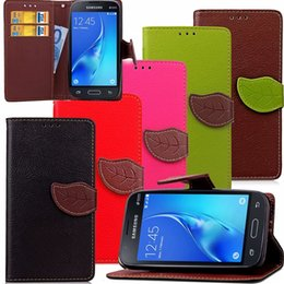 Wholesale Galaxy S4 Folding Case - Folding Folio Wallet PU Leather Stand Flip Case for Samsung Galaxy S3 S4 S5 S6 Edge S7 Edge Note2345 with Cards Slots and Hand Strap