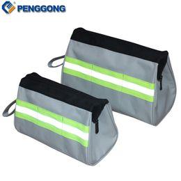 2019 сумки для холста Wholesale- 1pc Storage Tools Bag Utility Bag Electrical Package Multifunction Oxford Canvas Waterproof Toolkit скидка сумки для холста