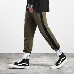 Wholesale Sport Cargo Pants For Men - New 2017 Casual Pants For Men Mens Joggers Fashion Harem Pants Trousers Hip Hop Slim Fit Sweatpants Men sport pants