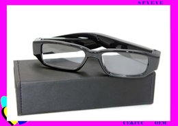 Wholesale Hd Video Format - 2017 hot and popualr full HD 1280*720 support 32GB memory AVI format DVR video recording nonporous glasses camera